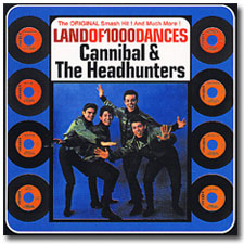 Cannibal and the Headhunters CD cover