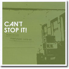 Can't Stop It CD cover