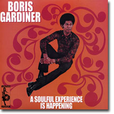 Boris Gardiner CD cover