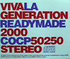 La Generation Readymade 2000