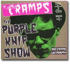 Radio Cramps - The Purple Knif Show  CD cover