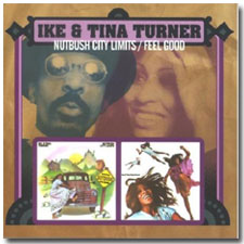 Ike and Tina Turner CD  cover